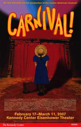 Carnival (Broadway) - 14 x 22 Poster - Style A