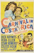 Carnival In Costa Rica - 11 x 17 Movie Poster - Style A
