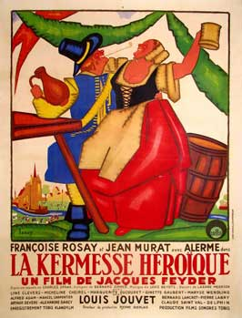 Carnival in Flanders - 11 x 17 Movie Poster - French Style A