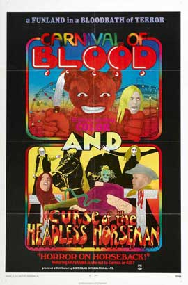 Carnival Of Blood - 27 x 40 Movie Poster - Style A