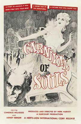 Carnival of Souls - 11 x 17 Movie Poster - Style B