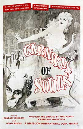 Carnival of Souls - 27 x 40 Movie Poster - Style C