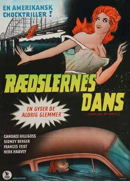 Carnival of Souls - 11 x 17 Movie Poster - Danish Style A