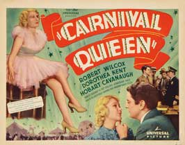 Carnival Queen - 11 x 14 Movie Poster - Style A