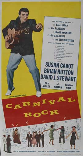 Carnival Rock - 11 x 17 Movie Poster - Style A