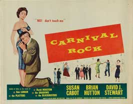 Carnival Rock - 22 x 28 Movie Poster - Half Sheet Style A