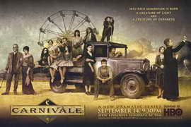 Carnivale - 11 x 17 TV Poster - Style A
