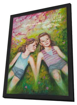 Caroline and Jackie - 27 x 40 Movie Poster - Style A - in Deluxe Wood Frame