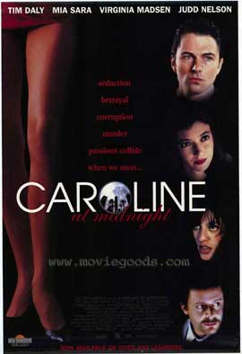 Caroline at Midnight - 11 x 17 Movie Poster - Style A