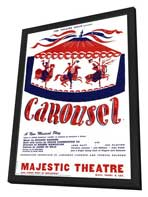 Carousel (Broadway) - 27 x 40 Poster - Style A - in Deluxe Wood Frame