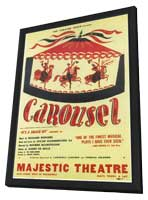 Carousel (Broadway) - 11 x 17 Poster - Style B - in Deluxe Wood Frame