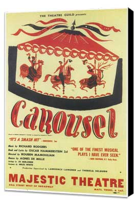 Carousel (Broadway) - 11 x 17 Poster - Style A - Museum Wrapped Canvas
