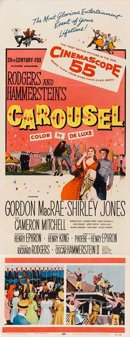Carousel - 14 x 36 Movie Poster - Insert Style A