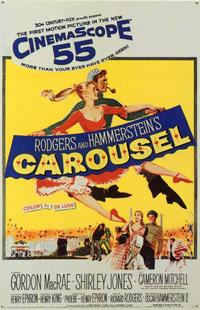Carousel - 11 x 17 Movie Poster - Style B - Museum Wrapped Canvas