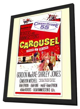 Carousel - 27 x 40 Movie Poster - Style A - in Deluxe Wood Frame