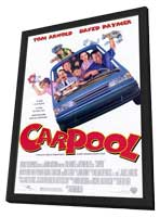 Carpool - 11 x 17 Movie Poster - Style A - in Deluxe Wood Frame