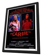 Carrie - 11 x 17 Movie Poster - Style A - in Deluxe Wood Frame