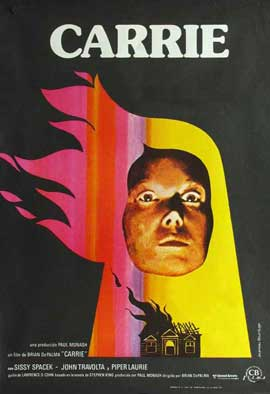 Carrie - 11 x 17 Movie Poster - Spanish Style A