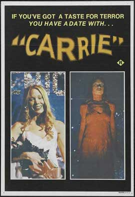 Carrie - 11 x 17 Movie Poster - Style B