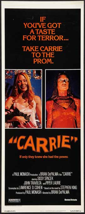 Carrie - 14 x 36 Movie Poster - Insert Style A