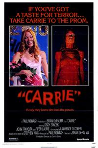 Carrie - 11 x 17 Movie Poster - Style A - Museum Wrapped Canvas