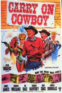 Carry On Cowboy - 27 x 40 Movie Poster - Style A