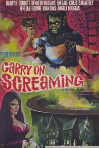 Carry On Screaming - 11 x 17 Movie Poster - Style A
