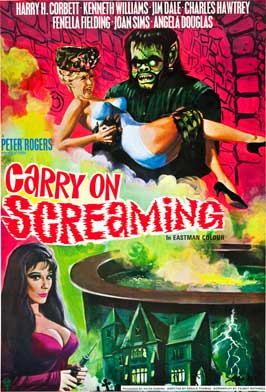 Carry On Screaming - 27 x 40 Movie Poster - Style B