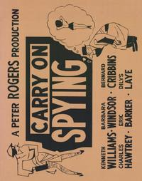 Carry On Spying - 22 x 28 Movie Poster - Half Sheet Style A