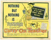 Carry on Teacher - 22 x 28 Movie Poster - Half Sheet Style A