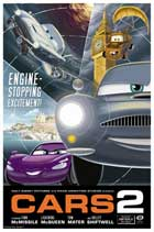 Cars 2 - 27 x 40 Movie Poster - Style H