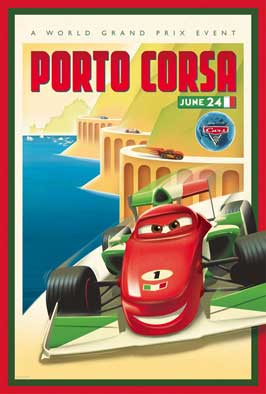Cars 2 - 27 x 40 Movie Poster - Style AD