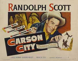 Carson City - 11 x 14 Movie Poster - Style A