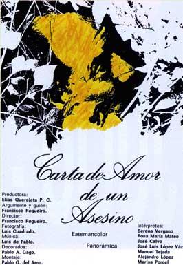 Carta de amor de un asesino - 11 x 17 Movie Poster - Spanish Style A