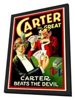 Carter Beats the Devil - 11 x 17 Movie Poster - Style A - in Deluxe Wood Frame