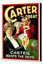 Carter Beats the Devil - 11 x 17 Movie Poster - Style A - Museum Wrapped Canvas
