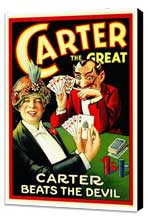 Carter Beats the Devil - 27 x 40 Movie Poster - Style A - Museum Wrapped Canvas