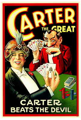 Carter Beats the Devil - 27 x 40 Movie Poster - Style A