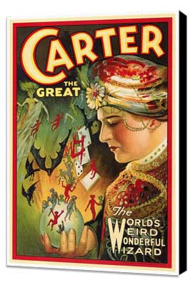 Carter The Great - 27 x 40 Movie Poster - Style B - Museum Wrapped Canvas