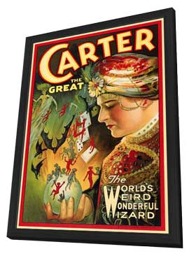 Carter The Great - 11 x 17 Movie Poster - Style B - in Deluxe Wood Frame