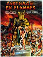 Carthage in Flames - 11 x 17 Movie Poster - French Style B