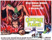 Carthage in Flames - 11 x 14 Movie Poster - Style B