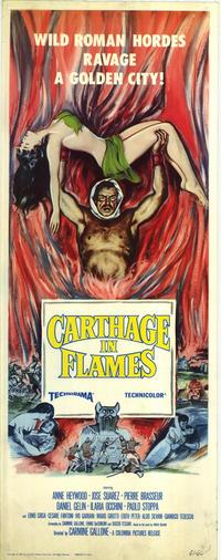 Carthage in Flames - 14 x 36 Movie Poster - Insert Style A