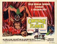 Carthage in Flames - 22 x 28 Movie Poster - Half Sheet Style B