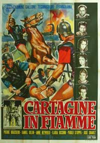 Carthage in Flames - 11 x 17 Movie Poster - French Style A