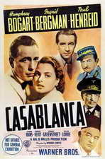 Casablanca - 11 x 17 Movie Poster - Style O