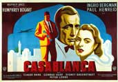 Casablanca - 11 x 17 Movie Poster - French Style A
