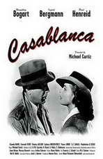 Casablanca - 11 x 17 Movie Poster - Style G