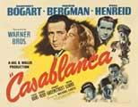 Casablanca - 27 x 40 Movie Poster - Style J