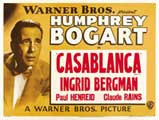 Casablanca - 43 x 62 Movie Poster - Bus Shelter Style C